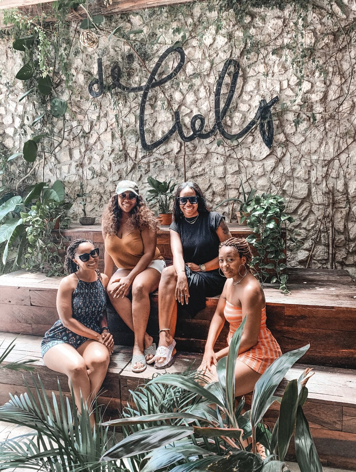Brunch with the girls at Del Cielo Tulum