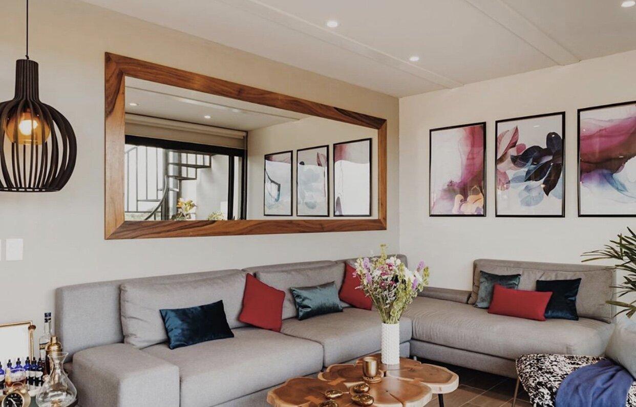Living room at Mun Tulum