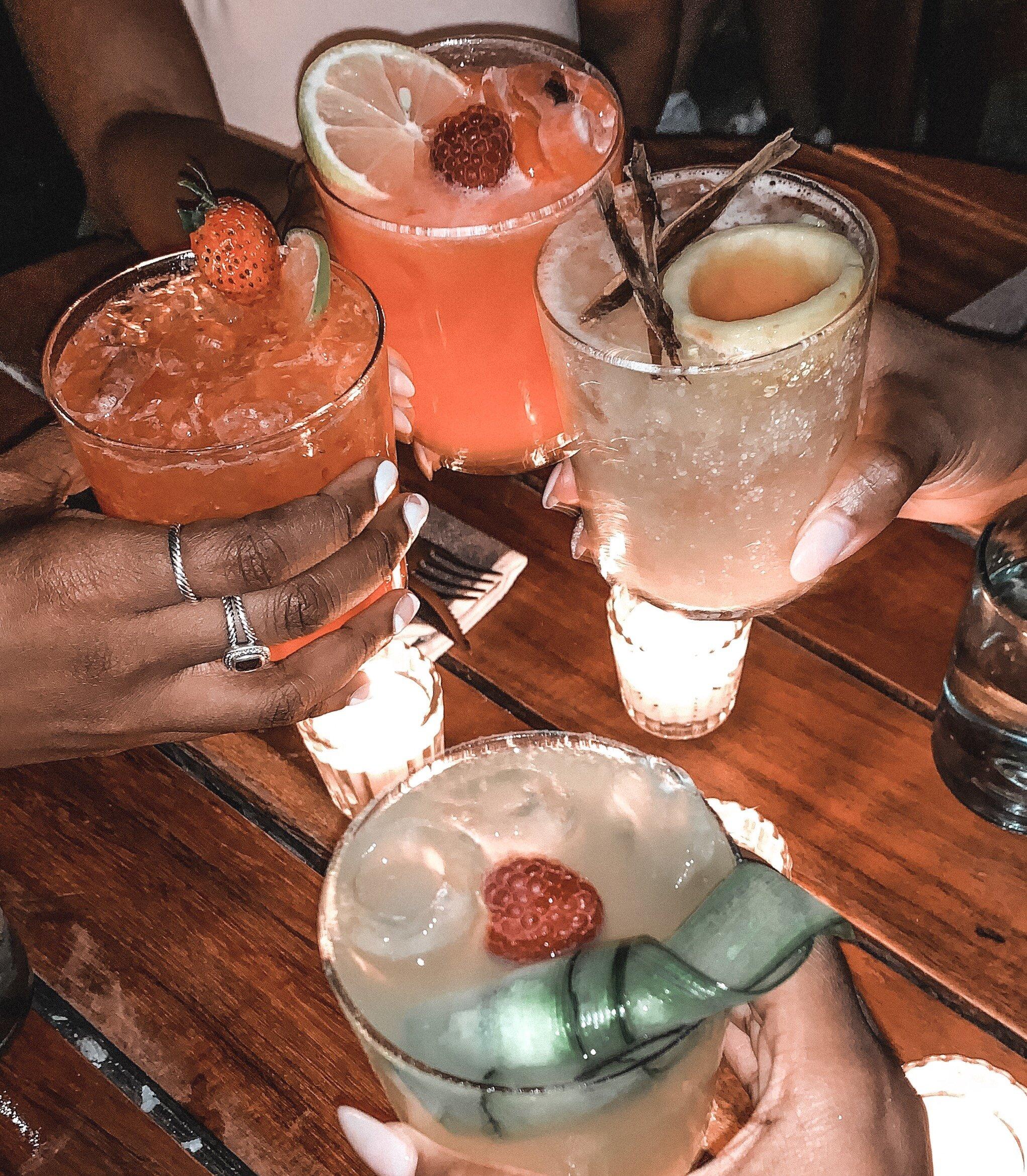 drinks at gitano tulum