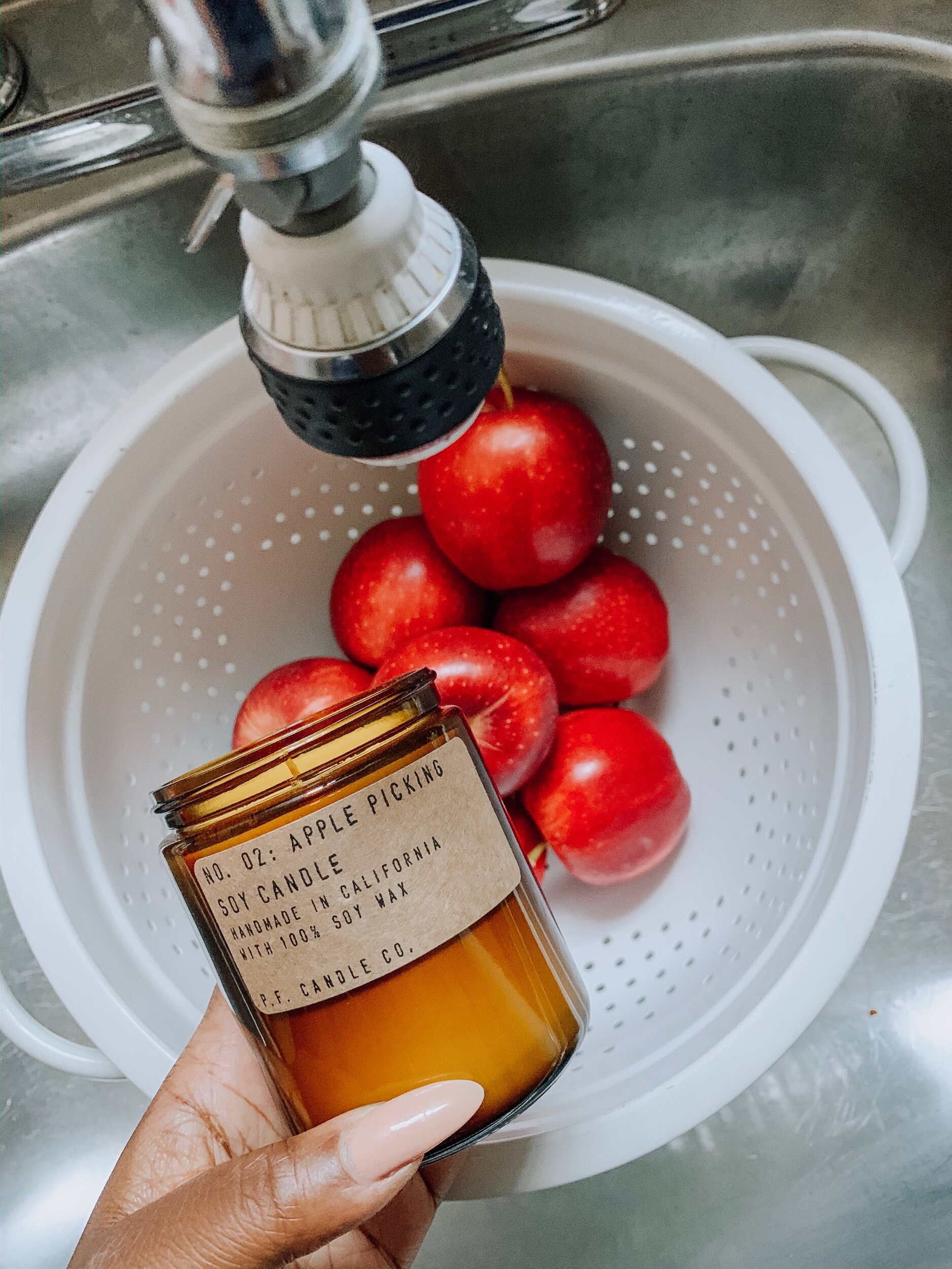 """Fall Candle """"Apple Picking"""" by PF Candle Co"""