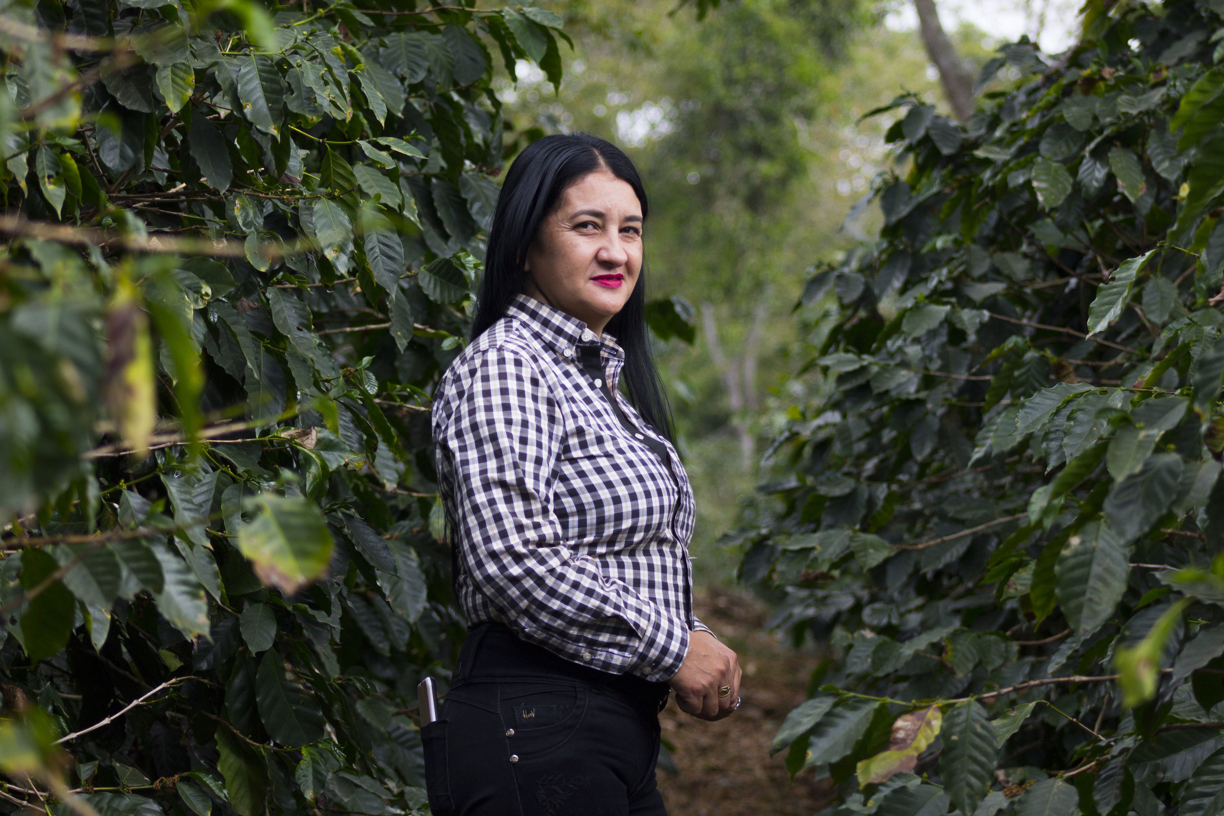 Maribel Perez, Coffee Grower and Farm Owner