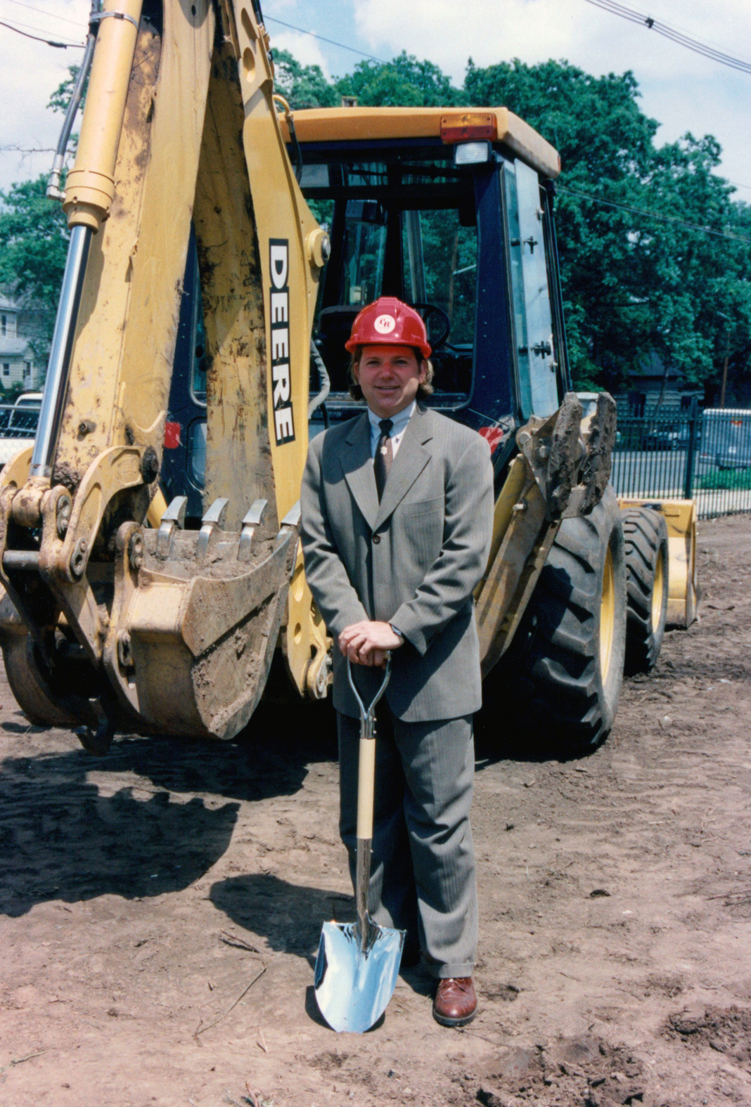 Groundbreaking Ceremony - New Jersey (with hair!)