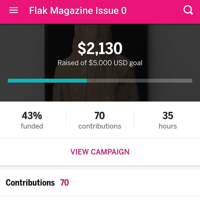 We're in the home stretch of our pre-order! Secure your copy of the inaugural issue before it's too late!! Bit.ly/flakzero ___ #flakmagazine #art #houarts #htx #writing #artspublication #letcreativityhappen18