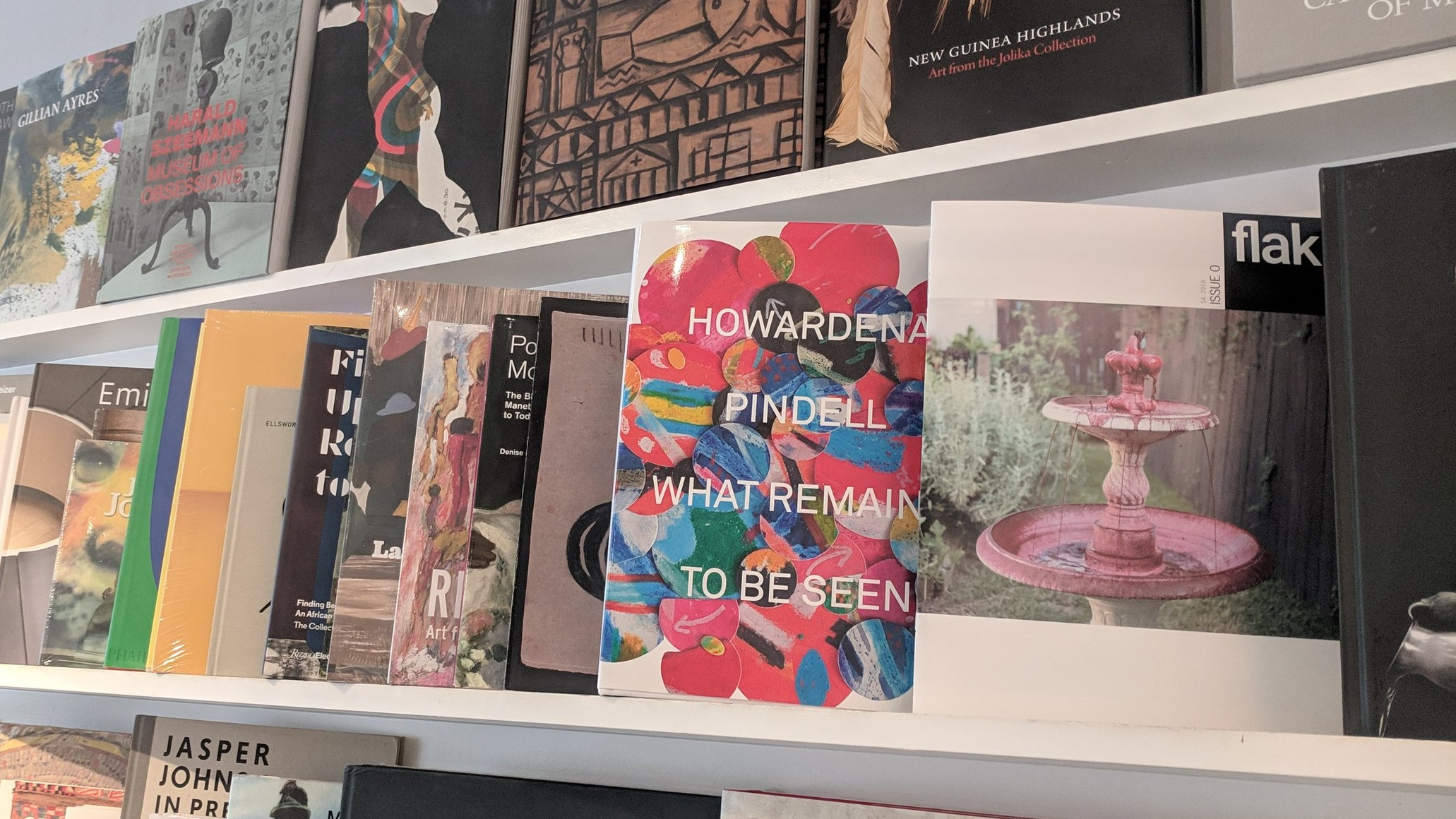 Issue 0 at the Menil Collection Bookstore