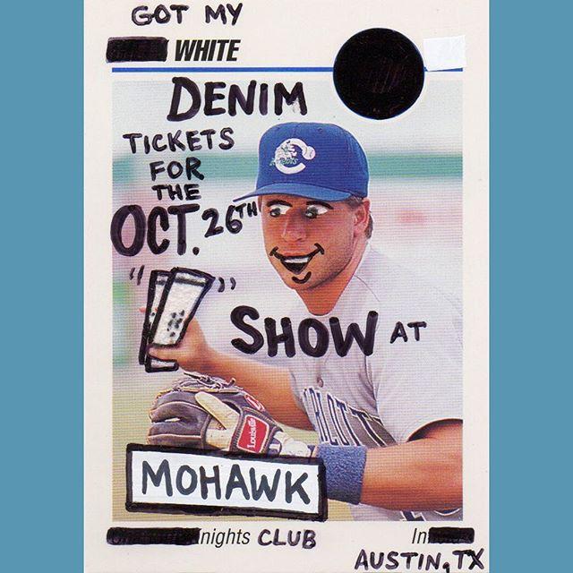 Snag 'em.  Ticket link in our story.  @baseballcardvandals #WDxBCV 2 of 6