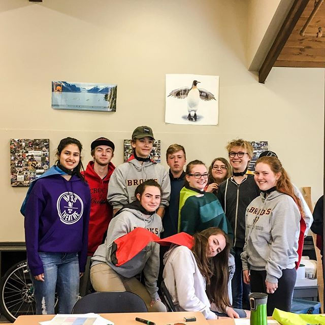 This week these super heroes are prepping to do the Sayward Canoe Route, a canoeing circuit that they are planning and implementing utilizing the skills they've been cultivating all semester! It's been awesome observing them stepping up and making this trip their own. Big shout out to @mec_nation for supporting our programs through generous gear donations. Many hands help us perform this work!  #leadership #outdoorschool #superhero #learning #outdooreducation #outdoorschool #getoutside #mecnation #livewell #bliss