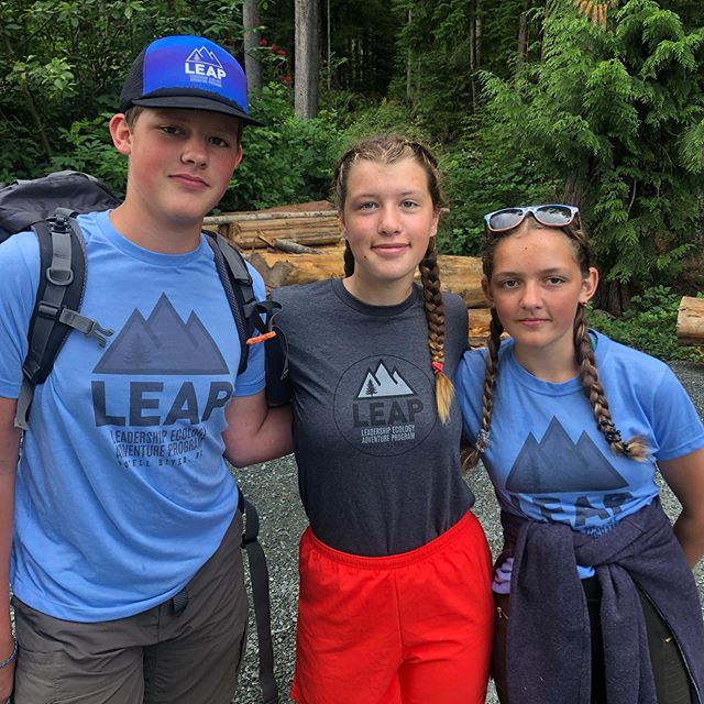 LEAP Apprentice 101: Ally Boyd (@gatorgirl2214 ) with students Catherine and Jacob. We received a lot of feedback on how valuable the apprenticeship is for all. Apprentices must have completed LEAP & then excelled in @coastmountainacademy If you have any questions about how you can become involved- please let us know!