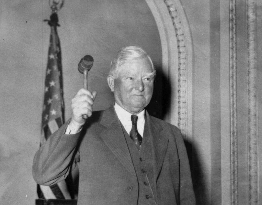 """Above:  Speaker of the House John Nance """"Cactus Jack"""" Garner (D-TX)"""
