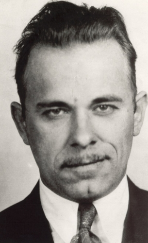 "It was reported that the killing of gangster John Dillinger (above) in January 1934 played a role in galvanizing public support for the National Firearms Act of 1934 (see e.g. ""Recent Successes against Criminals Strengthen Drive: Dillinger and Hauptmann Cases Do Much to Weld Public Sentiment,""  Christian Science Monitor , September 24, 1934.)"
