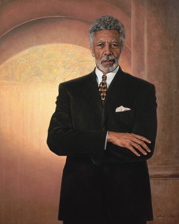 """Rep. Ron Dellums (D-CA) (above) viewed the House bill as a """"step forward,"""" but also """"""""inadequate in response to what is evolving in South Africa at the very moment (Congressional Record, June 18, 1986, 99th Congress, 14276)."""" His full-text substitute amendment was adopted by voice vote."""