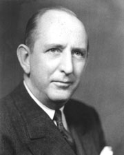 (Above) Senator Richard Russell (D-GA), a strong proponent of the National School Lunch Act.