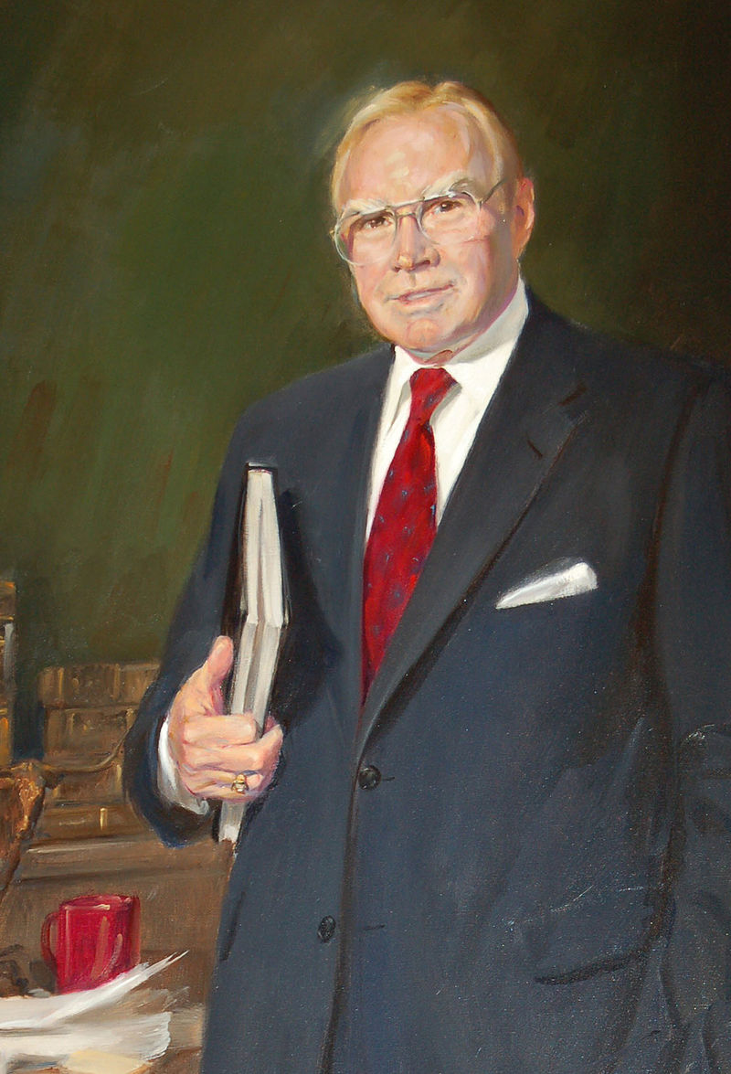 Above: Majority Leader Jim Wright (D-TX), the sponsor of the bill.