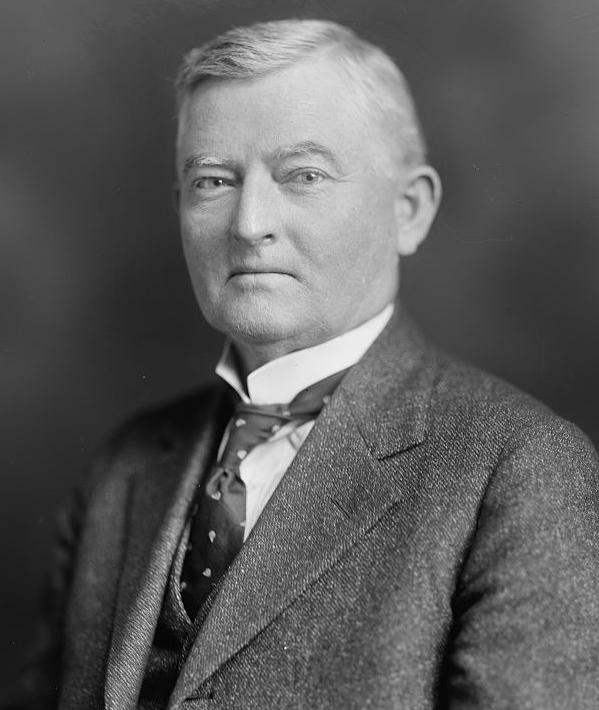 "Above:  Speaker of the House John Nance ""Cactus Jack"" Garner (D-TX) was known to have private office he dubbed the ""Board of Education."" He and others would drink in it during prohibition to, in his words, ""strike a blow for liberty"" (Champagne 1998)."