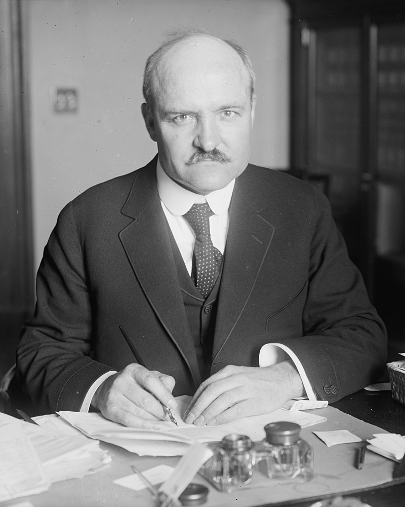 """Above : Upon passage of the Standard Time Act, its sponsor, Senator William Calder (R-NY) predicted it would be """"a very popular measure"""" and """"no effort [would] be made to repeal it."""" It was a terrible prediction. The daylight saving provision of the law was repealed just over a year later after widespread confusion."""
