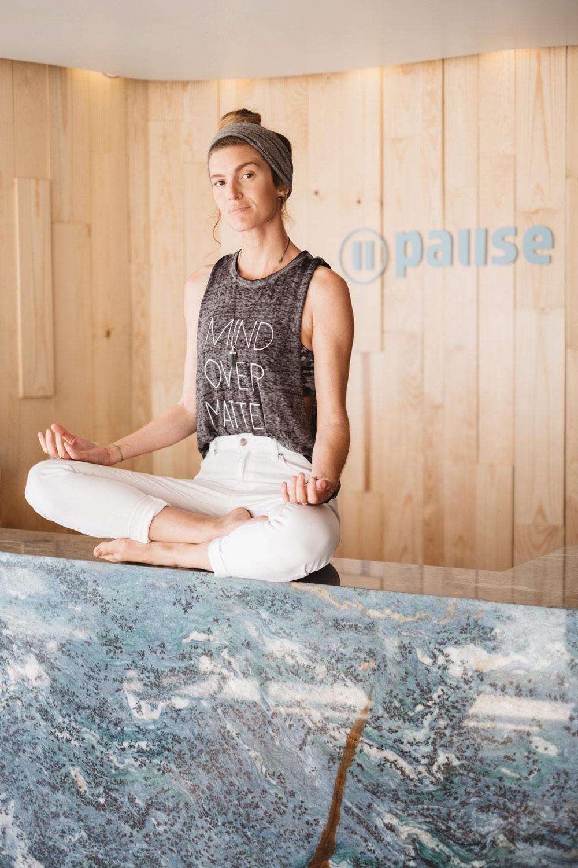 Pause Float Studio meditation