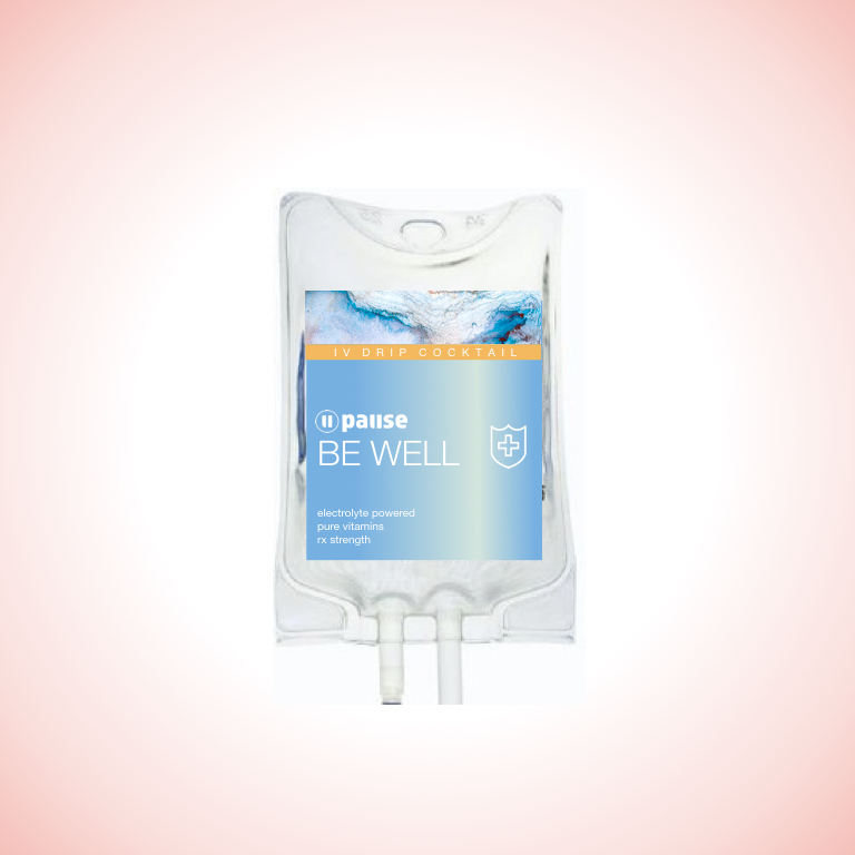 be well - $159 | Feeling under the weather or just need a lil immunity support? We got you with this megadose formulaWe've packed this drip with Vitamin C to help strengthen your immune system, B12 for high level energy production and relaxing sleep, along with B complex and Magnesium to support immune function and overall immunity balance. This elixir is working hard to keep you at your best!