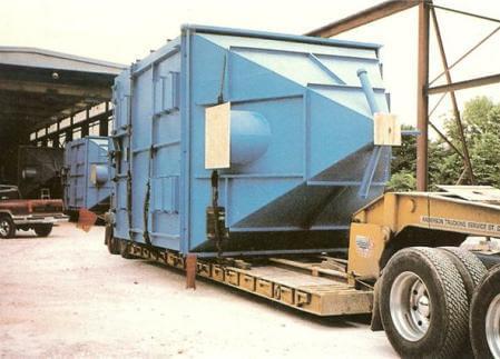 Custom Steel Fabricated Unit Awaiting Shipment 3