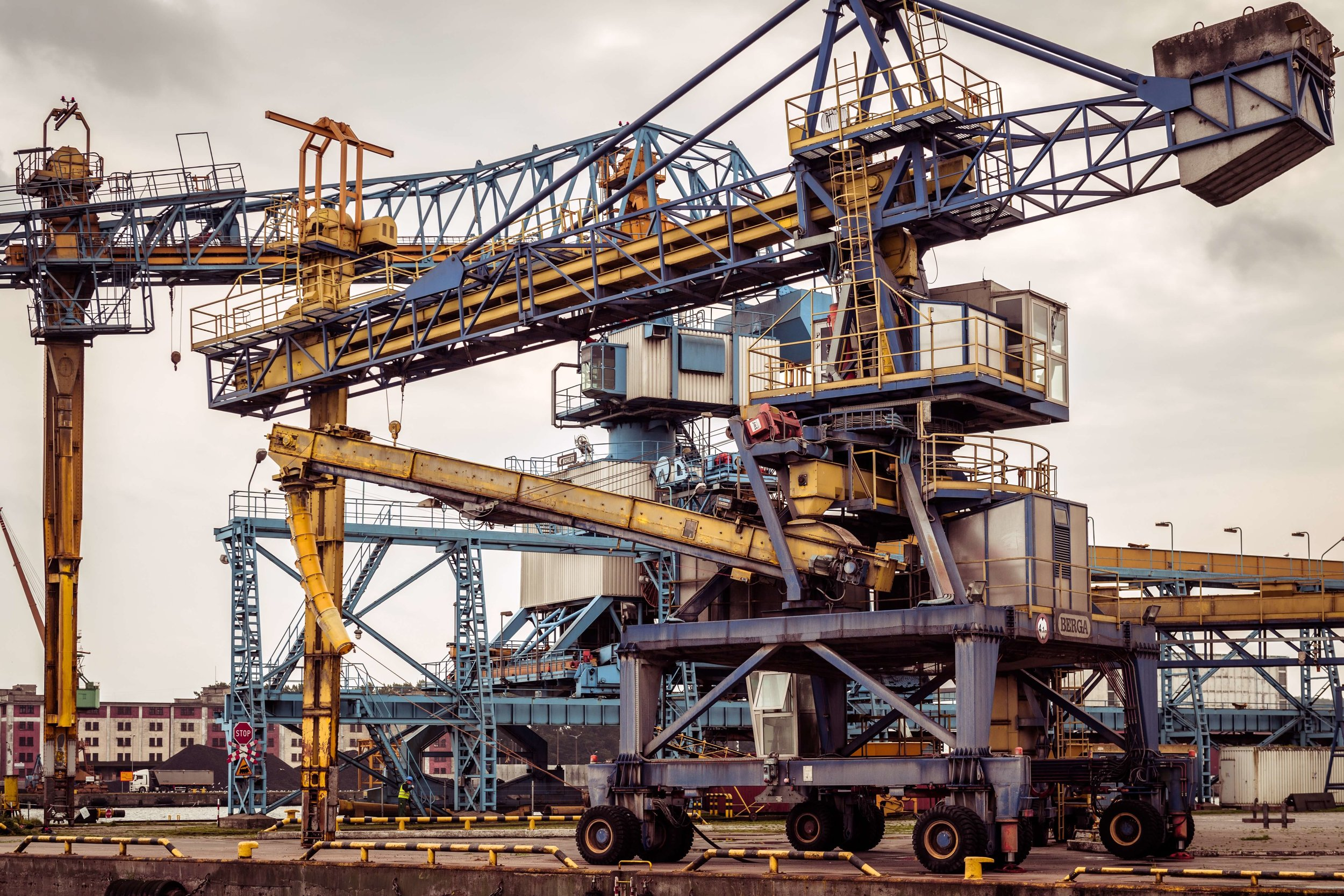 Giant Crane and Other Machinery in Sea Port and Shipyard.jpg