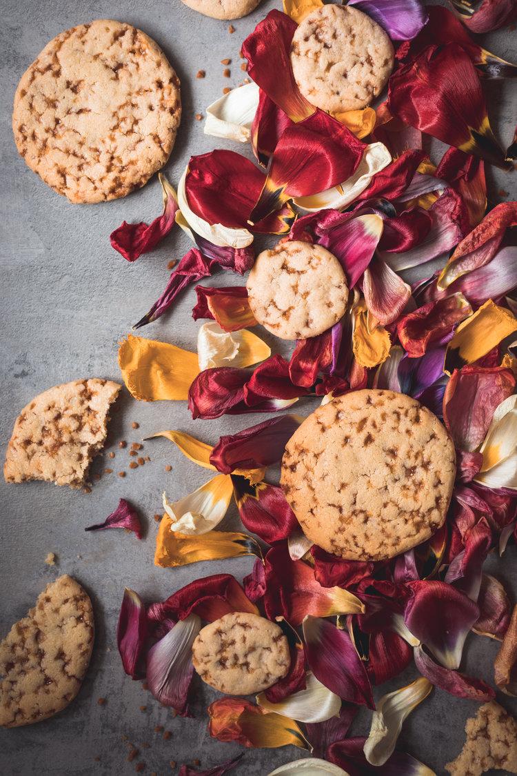 Salted caramel cookies - Paris
