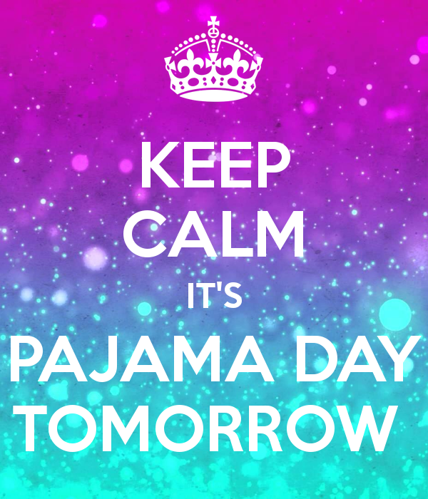 Wear comfy PJ's and slides. - Lunchtime Events: BBQ, eating contest, bobbing for apples, donut on a string