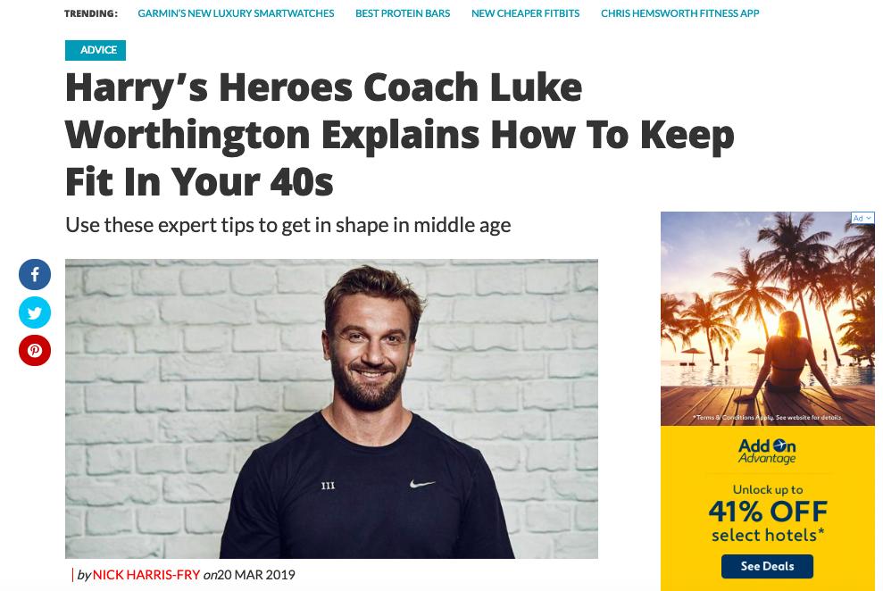 Coach Online - Harry's Heroes