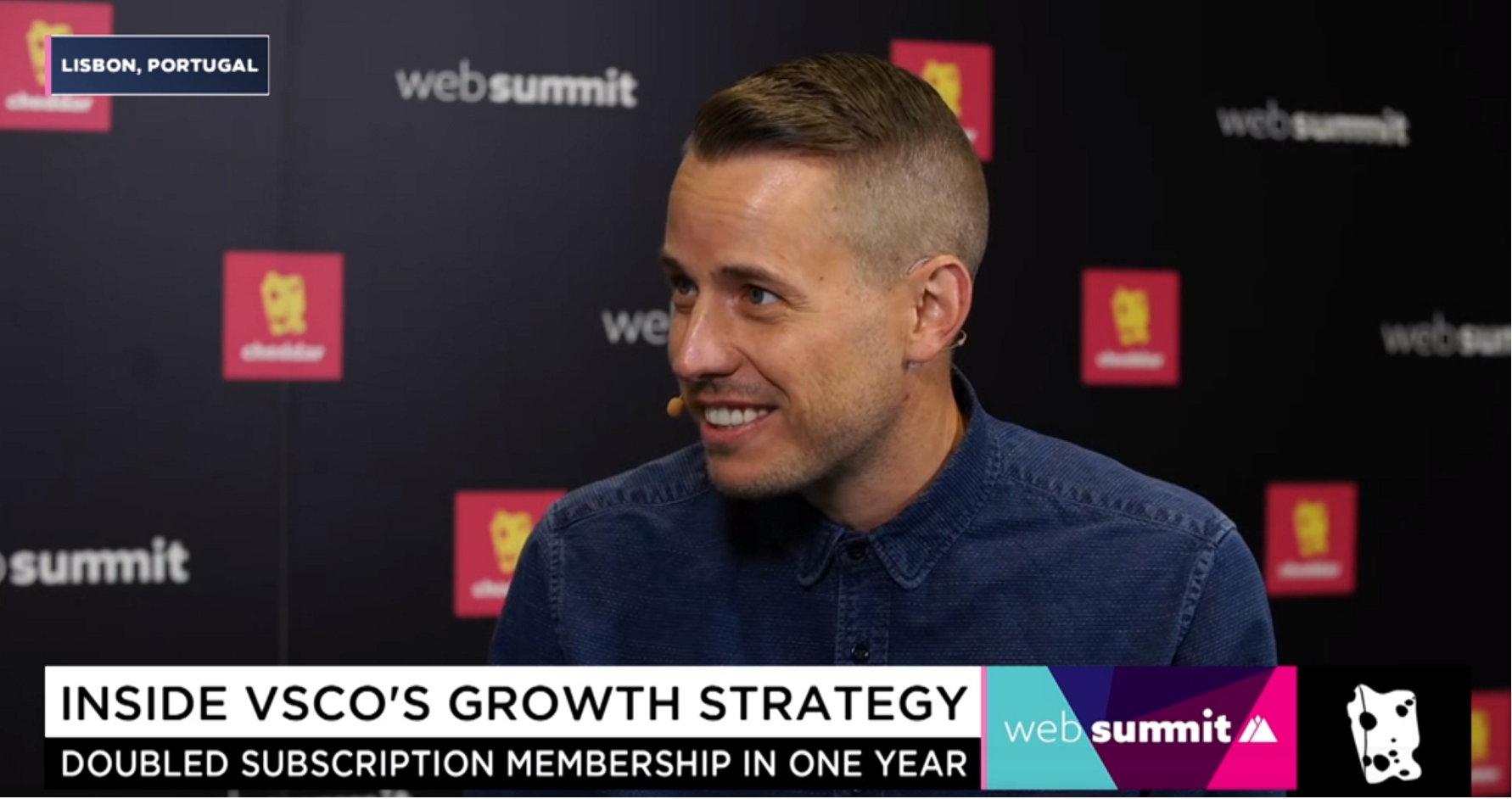 VSCO Hits 2 Million Paid Members, Making VSCO One of the Fastest Growing Subscription Businesses   November 8, 2018 - Cheddar's Alex Heath spoke with VSCO CEO Joel Flory at the Web Summit in Lisbon, Portugal about the platform's growth strategy after hitting 2 million paid users, how they are tapping into Gen Z, and their new partnership with Samsung.