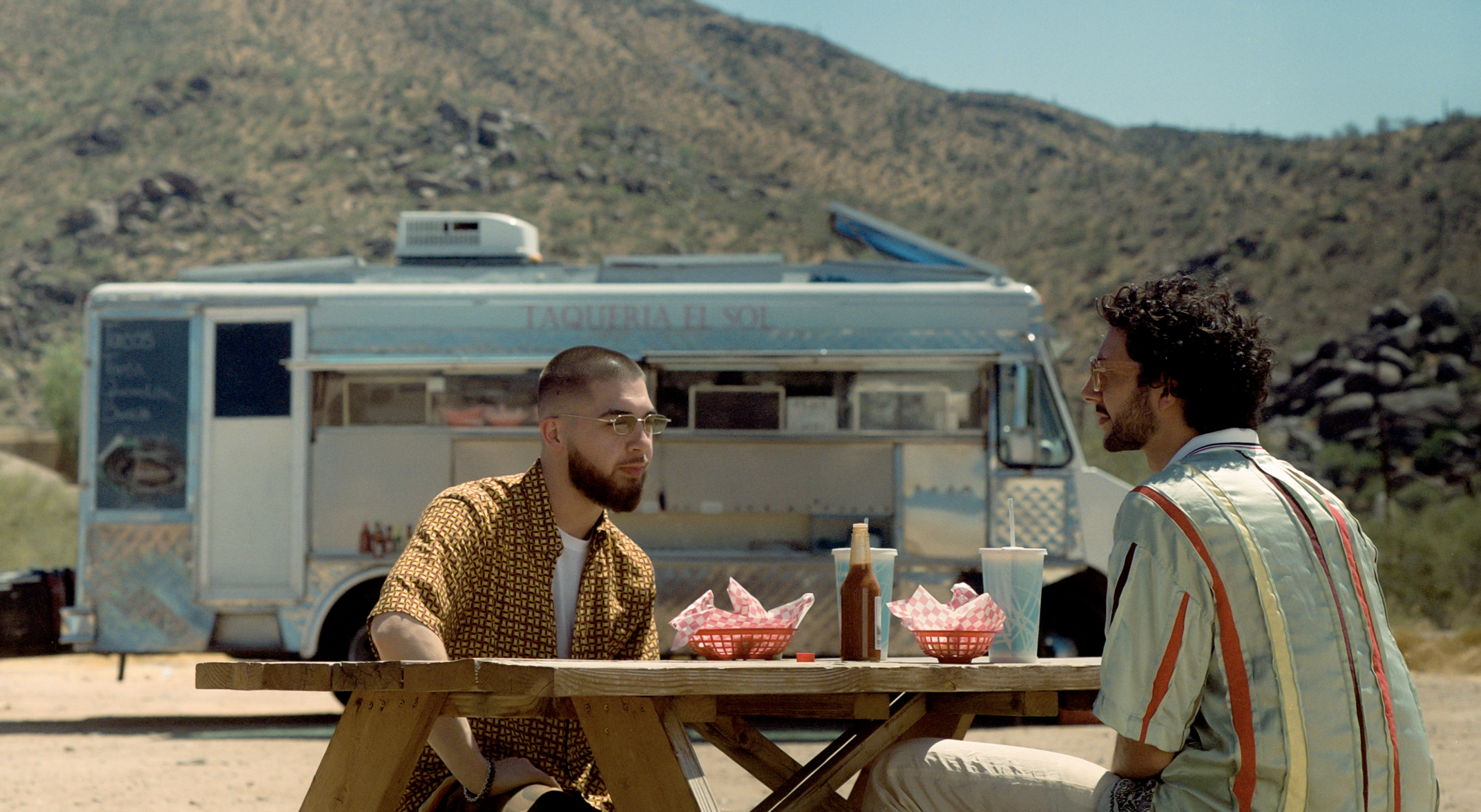 Majid Jordan ft. Khalid: Caught Up – A Process of Collaboration   June 25, 2019 — Keen to explore the songwriting and recording process, VSCO sent photographer Jack McKain to document their video shoot in the desert, and we caught up with the artists to explore the lesser known stories behind their work. From backstage sessions to the importance of finding creative space on the road, they share their process alongside behind-the-scenes photos, offering a glimpse of their journey to make it anyway.