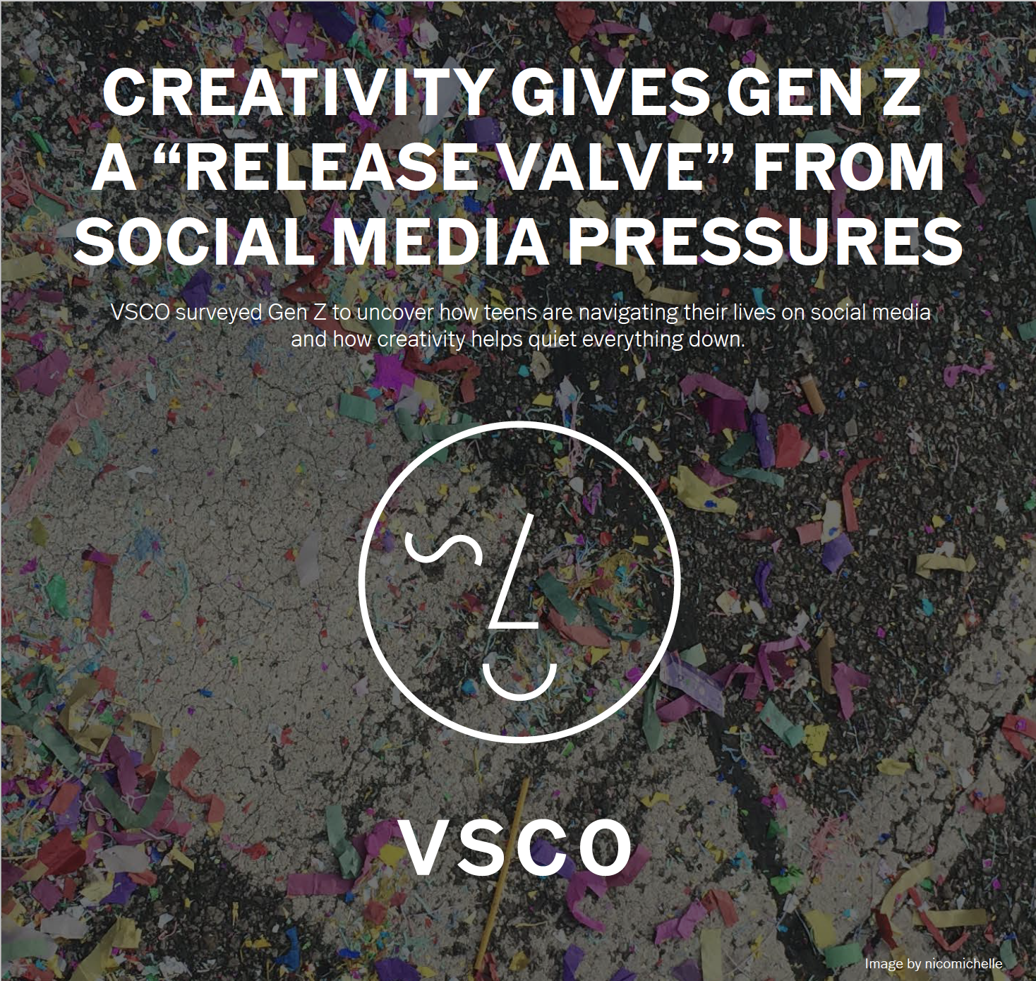 """Creativity Gives Gen Z A """"Release Valve"""" From Social Media Pressures   September 16, 2019 — As the first generation to be born with a digital footprint that they didn't create themselves, Gen Z are in many ways better prepared than any other generation to manage their way through social media. They're re-writing the rules as they go, finding safe spaces for creative expression and prioritizing self-care as part of their digital routine."""