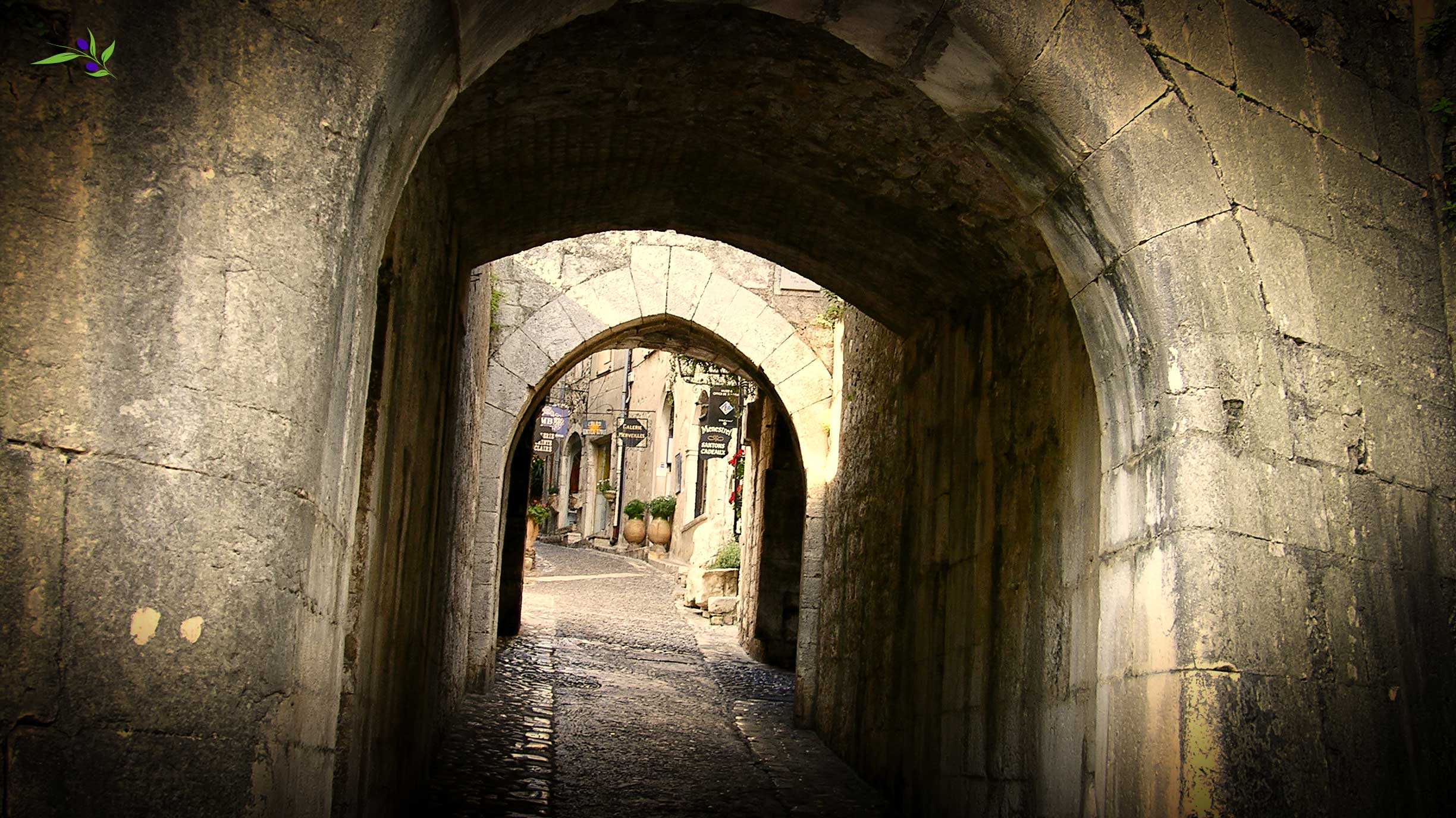 The entrance to St Paul de Vence