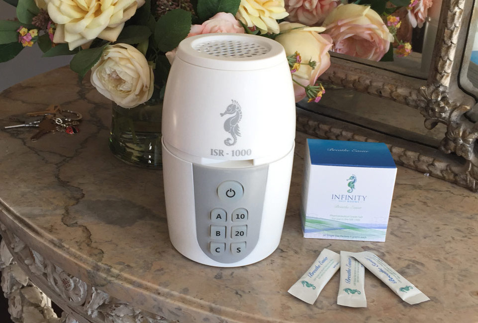 The ISR-1000 Home Salt Therapy System