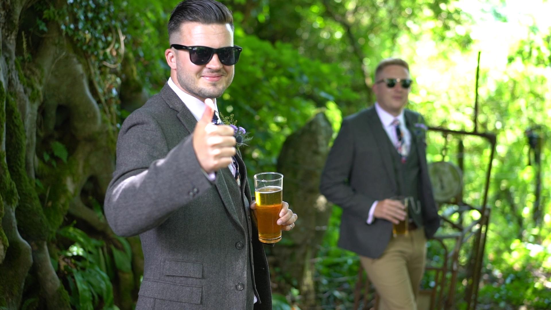 Devon outdoor wedding