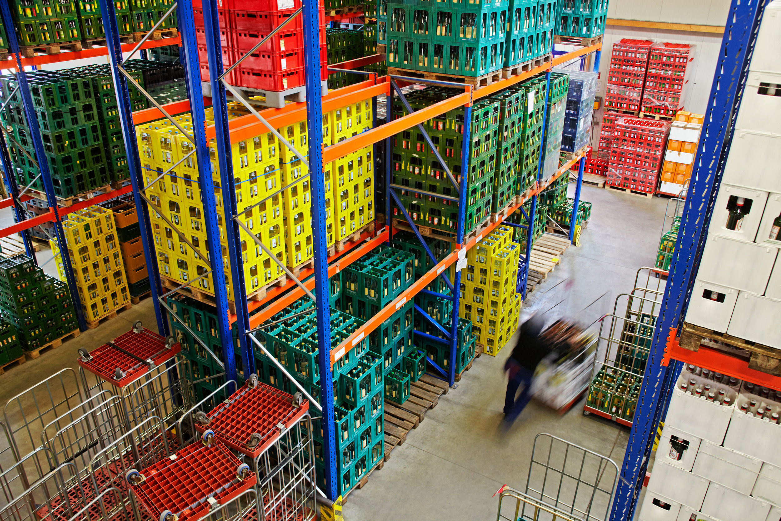 Food Supply Chain Technology: Increasing Warehouse IT