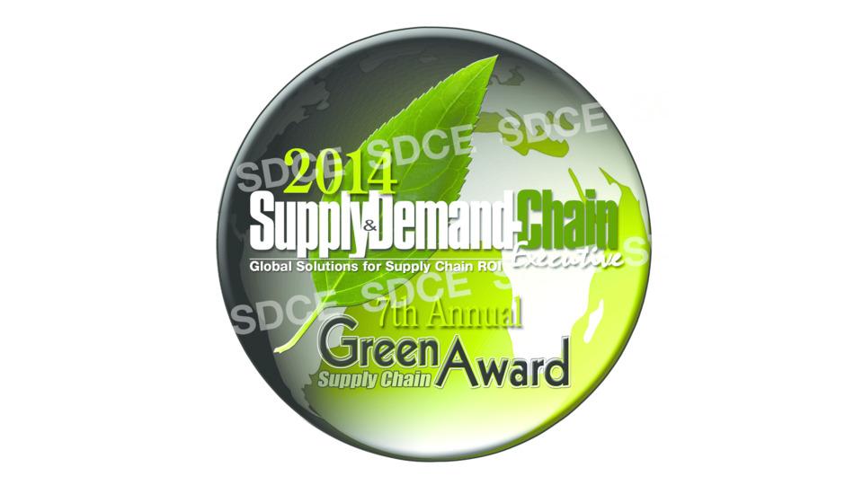 Barrett Distribution Centers Wins the 2014 Green Supply Chain Award
