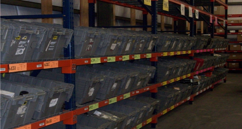 Hazardous goods storage and handling compliance in the automotive part supply chain