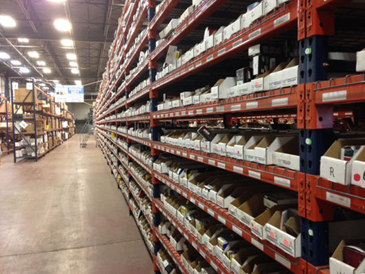 What are some of the challenges that face automotive parts fulfillment