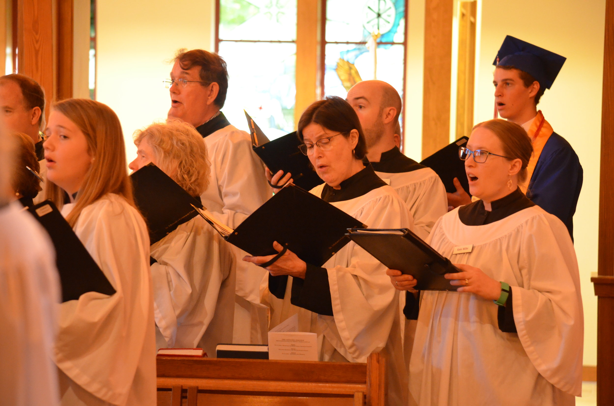 The Adult Choir of St. Michael's Episcopal Church, Raleigh, NC