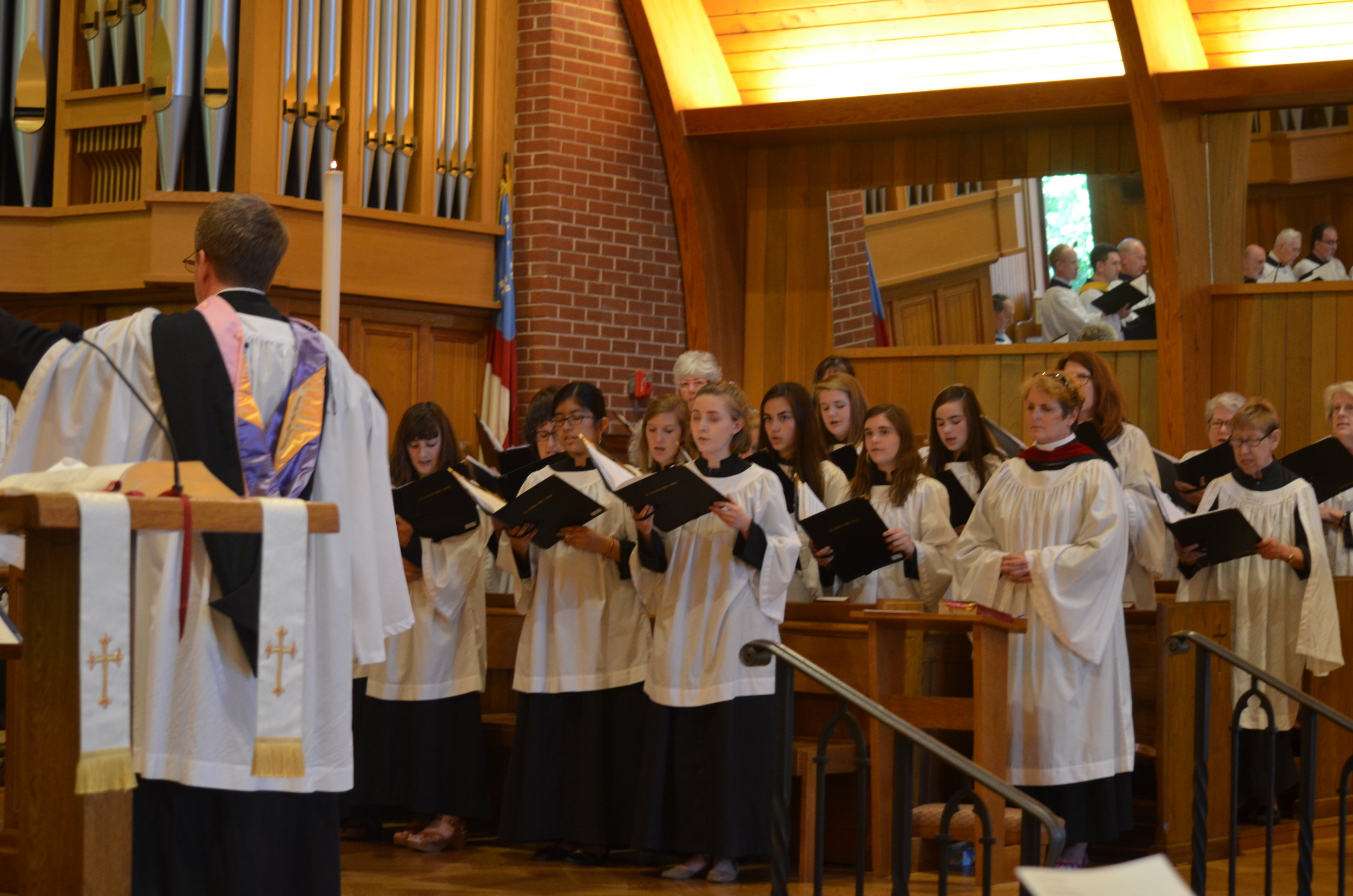 Choral Evensong at St. Michael's Episcopal Church, Raleigh