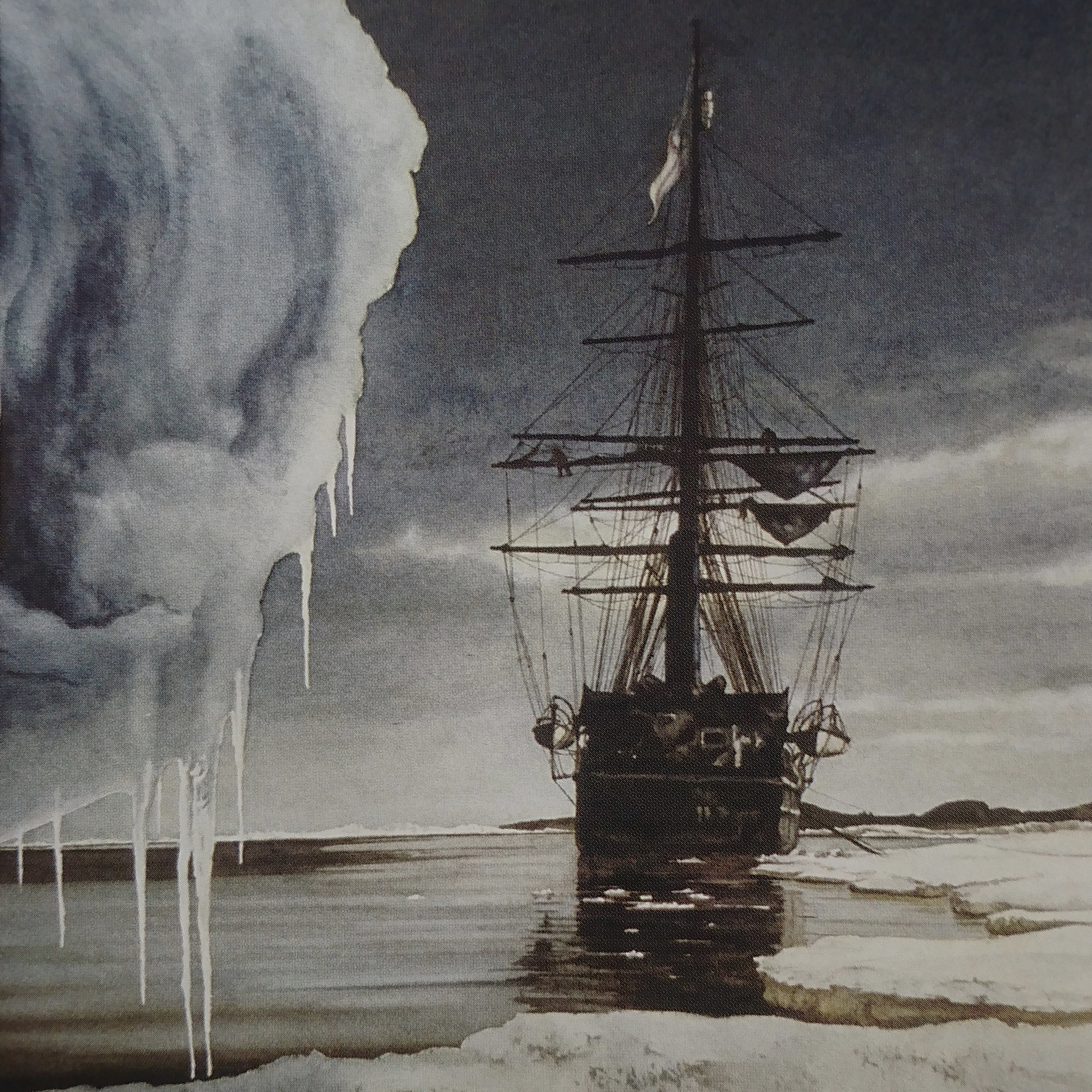 Image tirée de Polar Desert, Wally Herbert