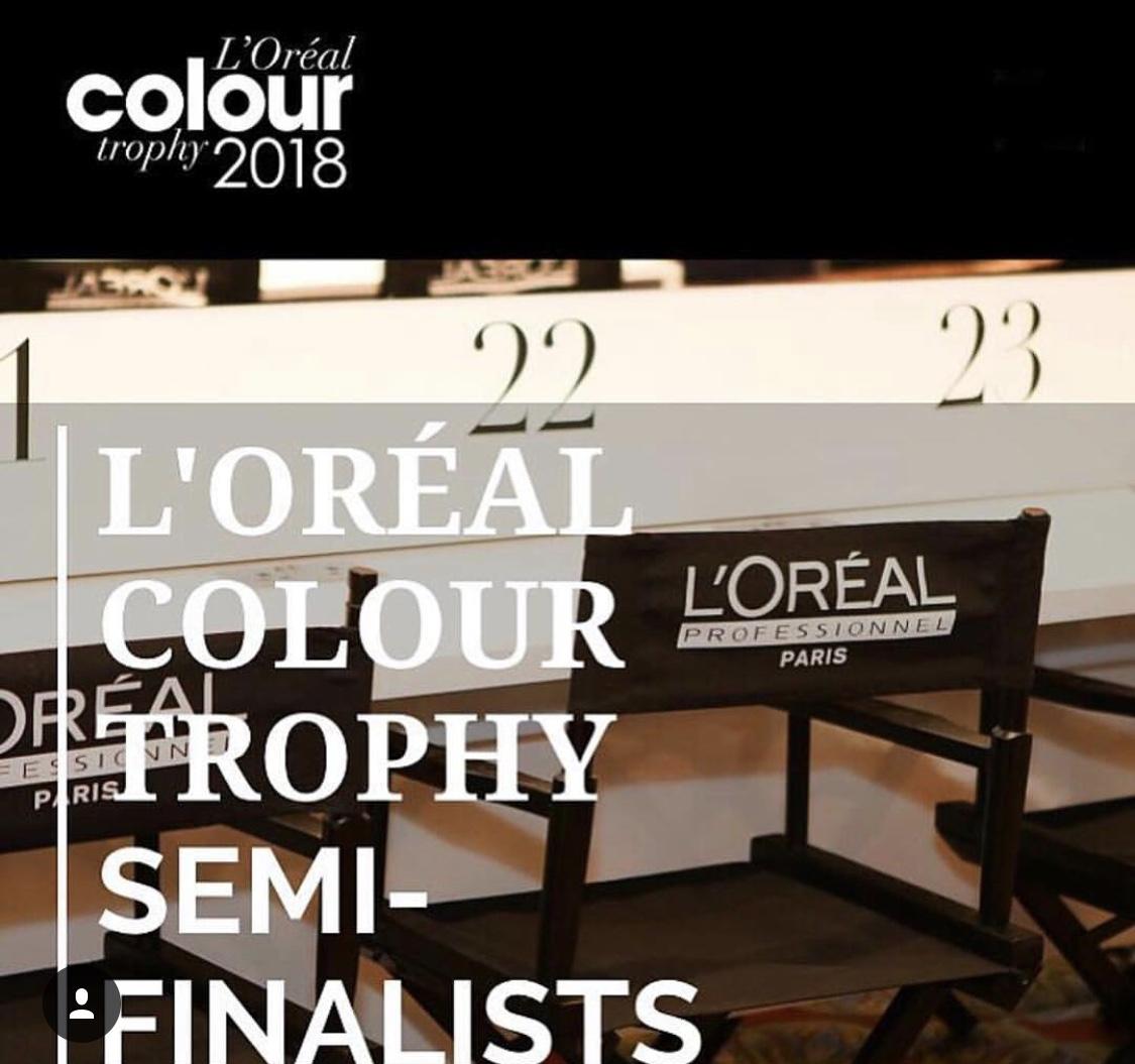 L'OREAL COLOUR TROPHY SEMI FINALISTS