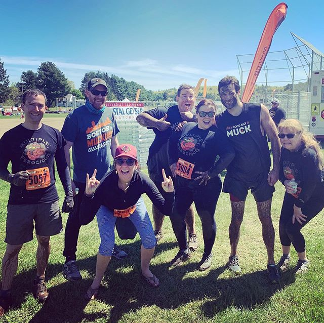 Pivot's 4th year at the @muckfest as team Multiple Ferocious! Always SO much fun! #muckfest #teamwork #msmuckfest #muckfest2019 #pivot207