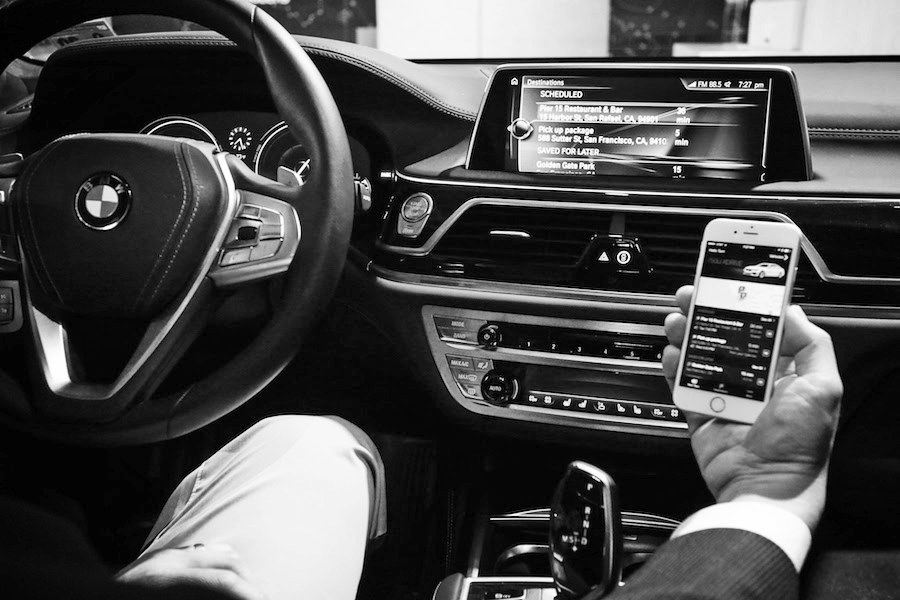 challenge - How might we utilize BMW connected car features to create a personal mobility companion?