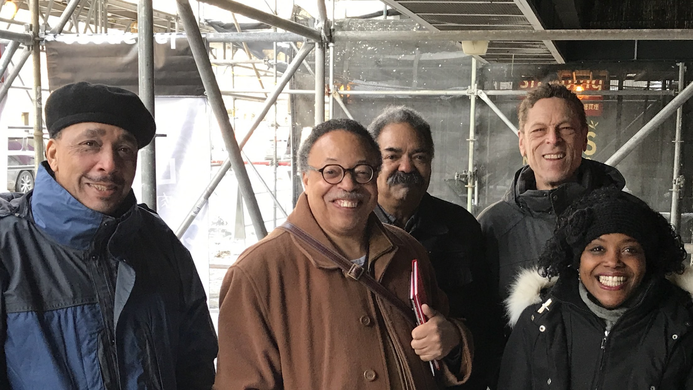 Birth of the Afro-Metis Nation: Sugar Plums Croxen, GEC, Russ Kelley, Chris White, and Shelley Hamilton. Toronto, December 2017.