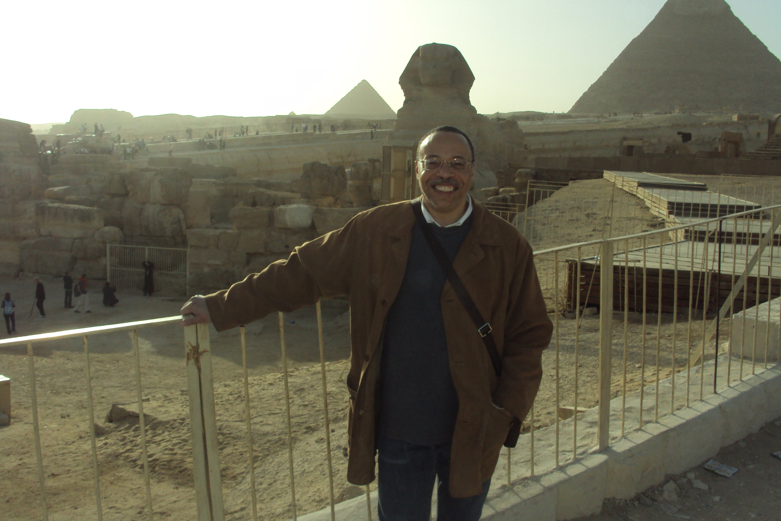 George in Cairo, 2010.