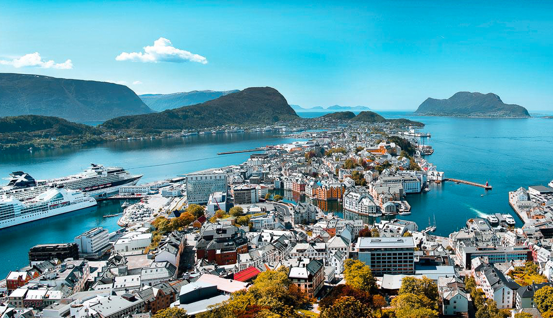 Photo from  VisitÅlesund