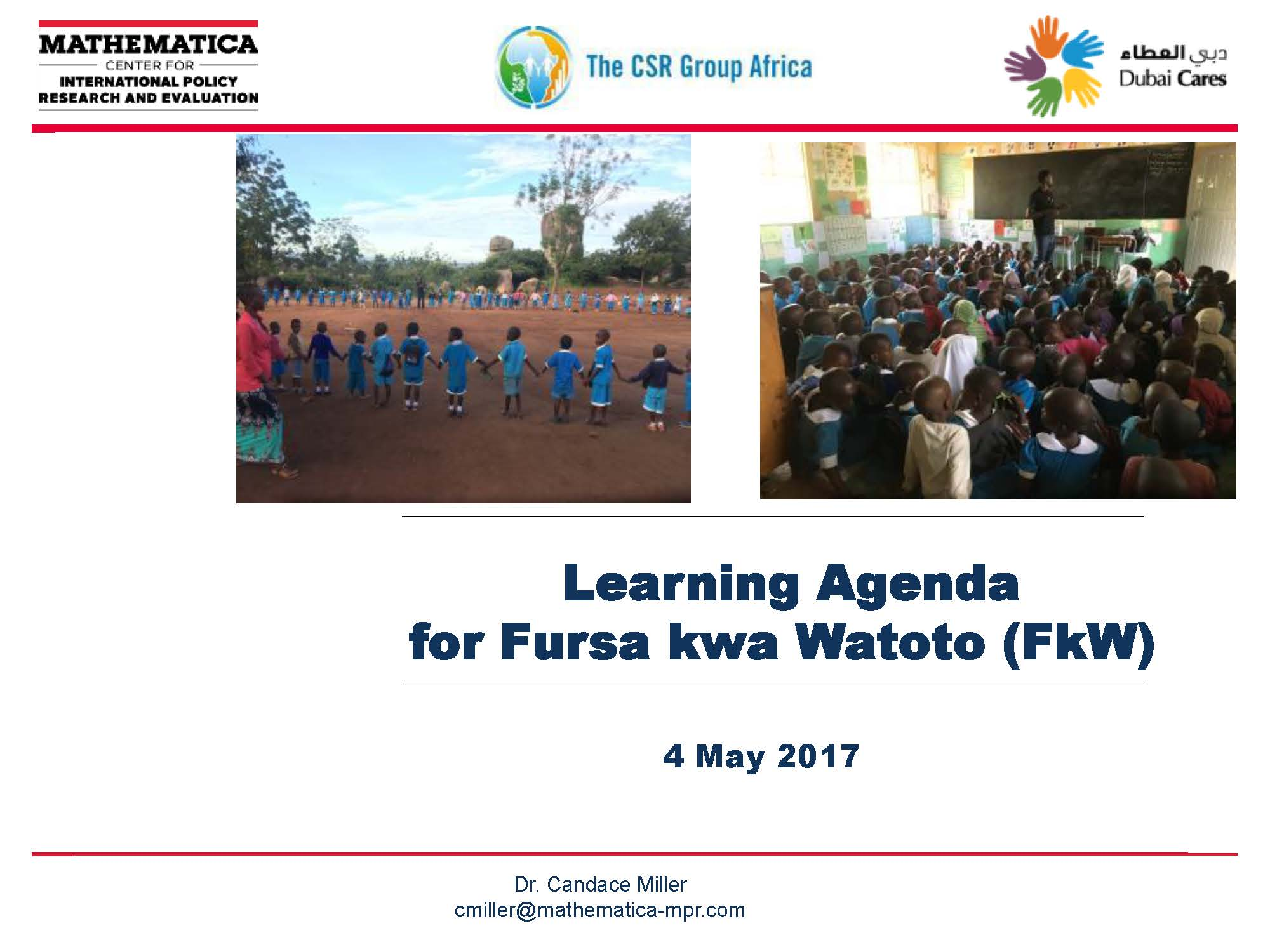 Presentation 6 - Mathematica Learning Agenda (proposed)