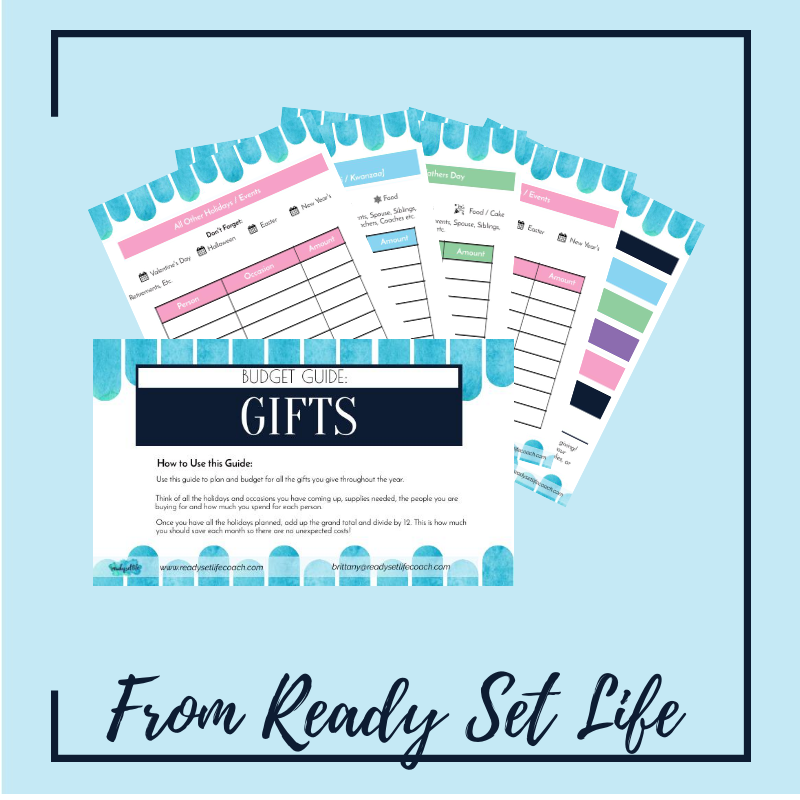 The Ultimate Gift Budget Guide: Don't let the holidays derail your money plans!