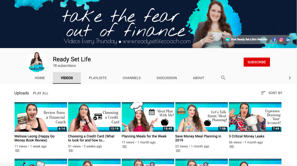I've got video content!  [Click the image above to visit the RSL YouTube Channel!]