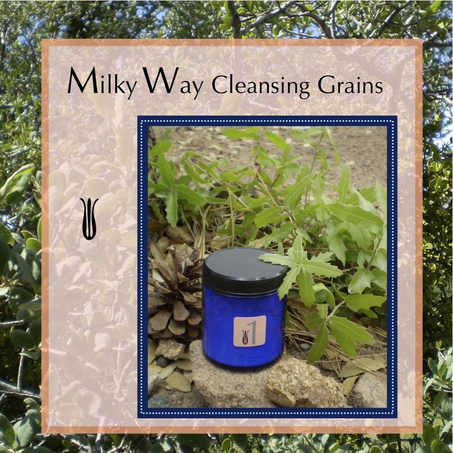 1. Milky Way Cleansing Grains    Freshly ground Oat Flour, Dried Milk