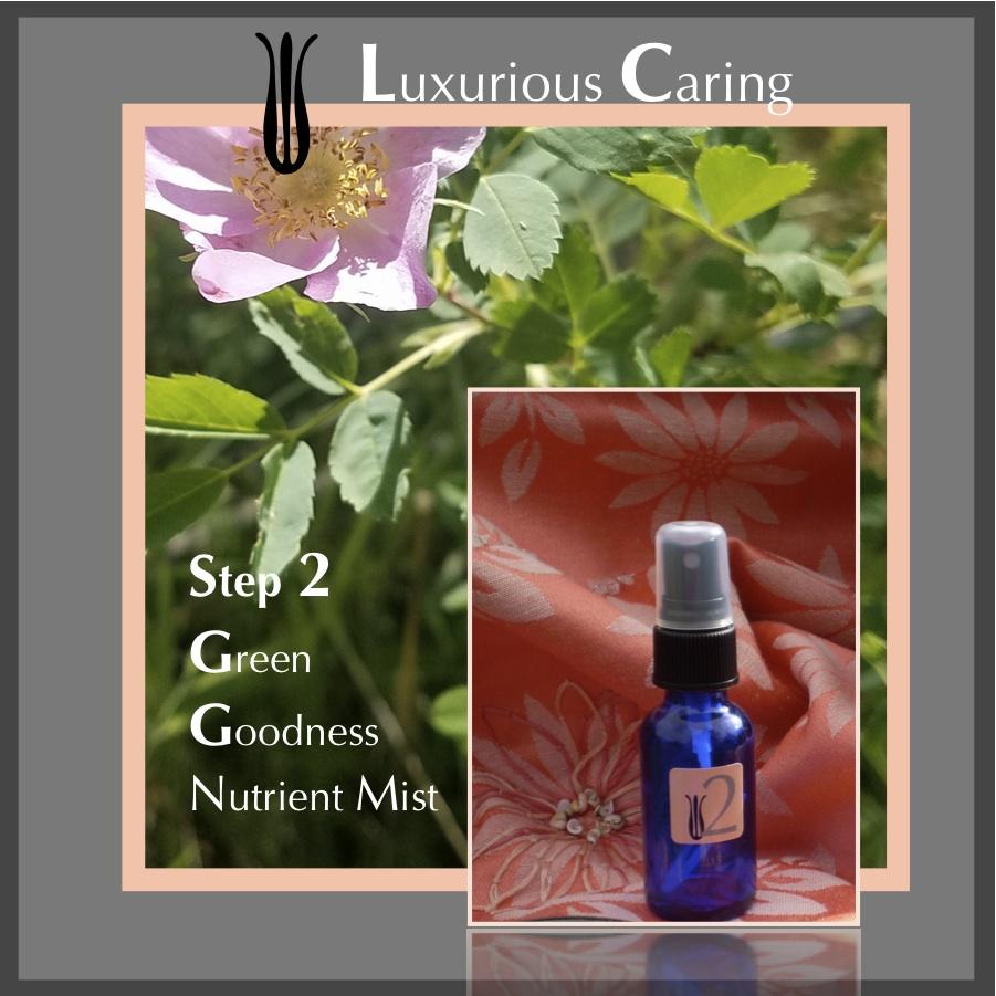 INGREDIENTS -  Snow Pea tisane, Lemongrass essential oil
