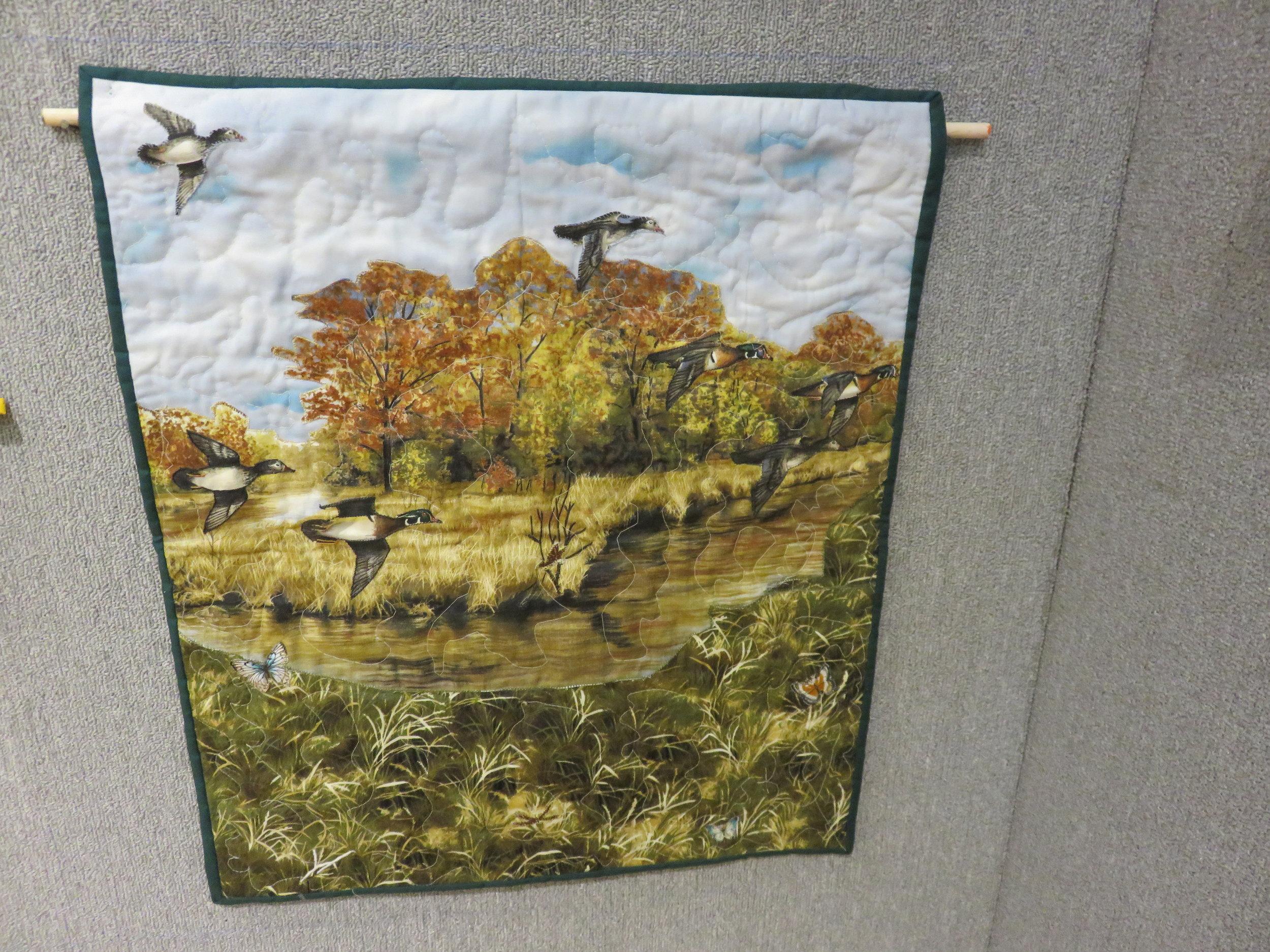 """Fly Free"" sewn by Gloria Browder"